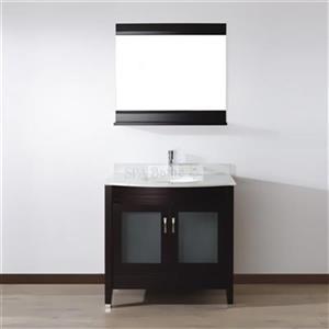 Spa Bathe 36-in ELVA Series Bathroom Vanity,EV36CHCWM