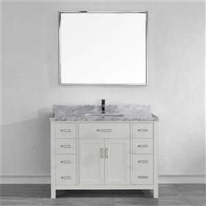 Spa Bathe 48-in Kenzie Series Bathroom Vanity,KZ48Wht