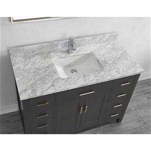 Spa Bathe 48-in Kenzie Series Bathroom Vanity,KZ48FG-CAR