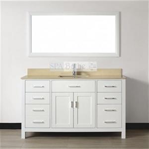 60-in Kenzie Series Bathroom Vanity