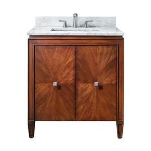 31-in Brentwood Bathroom Vanity with Countertop and Sink