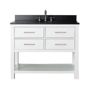 Avanity 42-in Brooks Bathroom Vanity Combo,BROOKS-VS42-WT-A