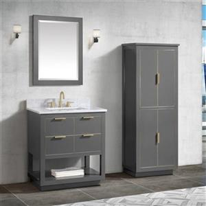 Avanity Allie 31-in Vanity Combo,ALLIE-VS31-TGG-C\n