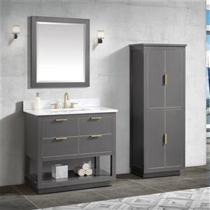 Avanity Allie 37-in Vanity Combo,ALLIE-VS37-TGG-C