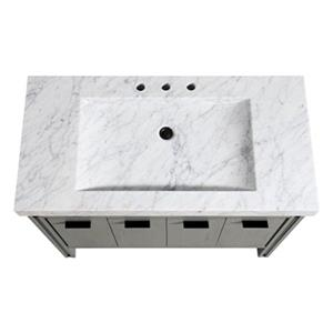 Avanity Dexter 43-in Vanity Combo with Integrated Sink,DEXTE