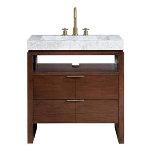 Avanity Giselle 33-in Vanity Combo with Integrated Sink,GISE