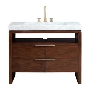 Avanity Giselle 43-in Vanity Combo with Integrated Sink,GISE