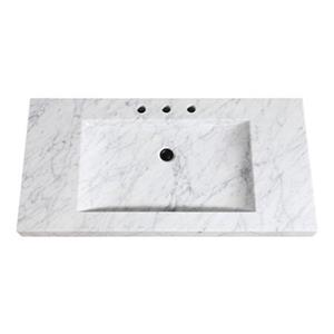 Avanity 43-in Stone Integrated Sink Top,SIT43CW