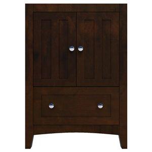 24-in Shaker Plywood-Veneer Vanity Base Only