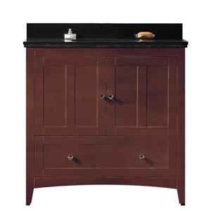 36-in Shaker Plywood-Veneer Vanity Set