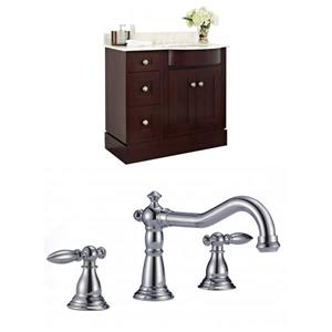 Tiffany 37.8-in Floor Mount Vanity Set