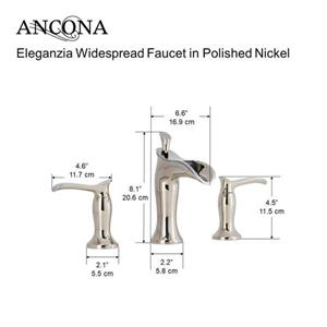 Ancona Eleganzia Bathroom Faucet - Polished Nickel