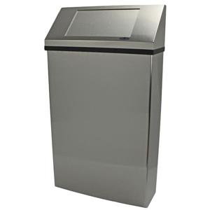 Frost Wall Mounted Waste Receptacle - Stainless Steel