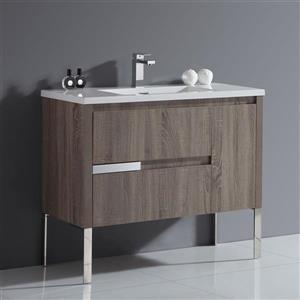 OVE Decors Davidci Single Sink Taupe Vanity - 40''
