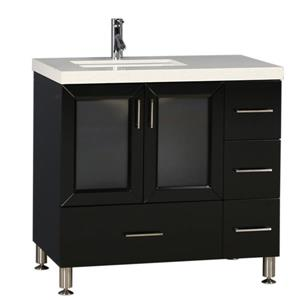 "Westfield Single Vanity - 36"" - Espresso"