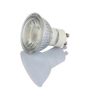 TorontoLed Glass LED COB GU10 Bulb - 10 PK - Clear