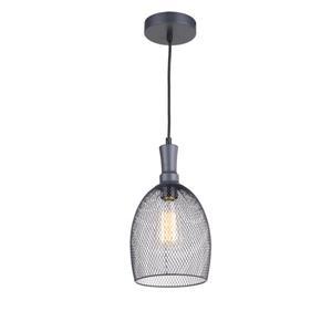 Whitfield Lighting Alec 1-Light Pendant - 12.2-in - Industrial Dark Grey