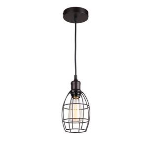 Whitfield Lighting 1-Light Pendant Light - 6.75-in x 5-in - Bronze