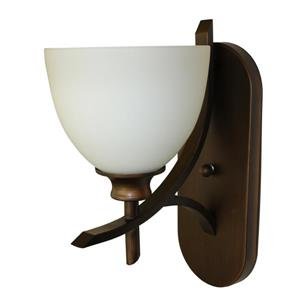 Whitfield Lighting Kelsey Wall Sconce - 1 Light - 13-in x 7-in - Oil Rubbed Bronze