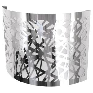 Whitfield Lighting Wall Sconce - 1 Light - 10-in x 8-in - Chrome