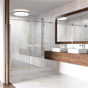 VIGO Vessel Bathroom Sink with Vessel Faucet - Jasmine