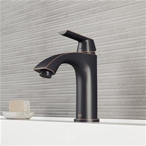 Vigo Penela Single Hole Bathroom Faucet/Pop-Up - Antique Bronze