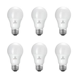 Globe Electric Equivalent A19 LED Light Bulb - Soft White - Pack of 6