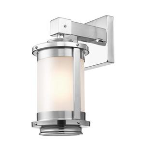 "Globe Electric Blair Wall Sconce - 1 Light - 12.57"" - Silver"