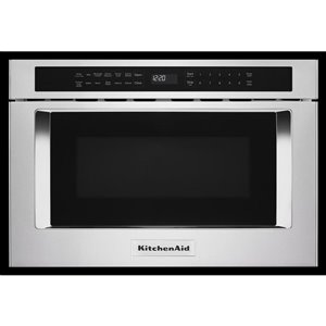 KitchenAid 24-in 1.2-cu ft Microwave Drawer (Stainless Steel)
