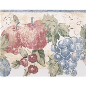 Norwall Wallpaper Border - 15' x 7-in- Fruits and Berries