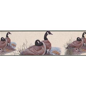 Norwall Wallpaper Border - 15' x 7-in- Ducks on the Lake Shore