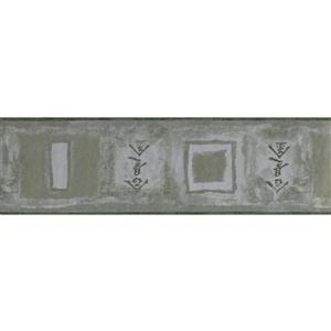 Norwall Wallpaper Border - 15' x 7-in- Abstract/Chinese Characters