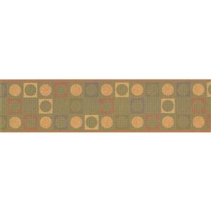 York Wallcoverings Wallpaper Border - 15-ft x 6-in - Abstract Geometric Design