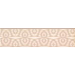 York Wallcoverings Wallpaper Border - 15-ft x 6-in - Abstract Lines - Brown/Beige