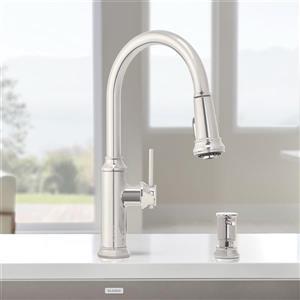 Blanco Empressa Pull-Down Kitchen Faucet - Chrome