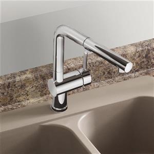 Blanco Posh Pull-Out Kitchen Faucet - Chrome