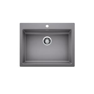 Blanco Precis Single Sink - Grey - 25.75-in