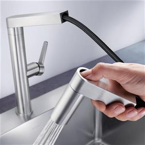 Blanco Panera Pull-Out Dual Spray Faucet - Stainless Steel