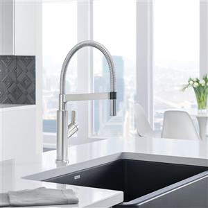 Blanco Solenta Hands-Free Sensor Faucet - Stainless Steel