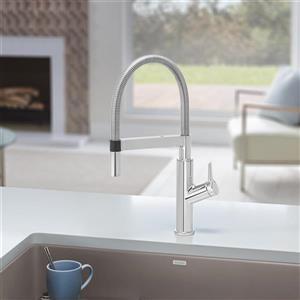 Blanco Solenta Hands-Free Kitchen Faucet - Chrome