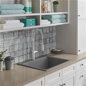 Blanco Liven Single Bowl Laundry Sink - Grey