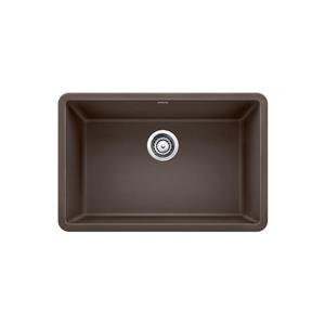 Blanco Precis Single Undermount Sink - Coffee- 27-in