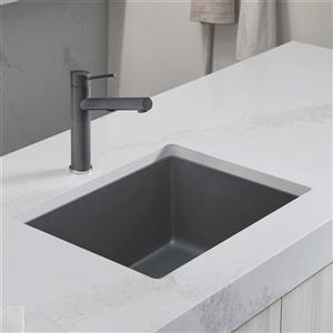 Blanco Precis Single Undermount Sink - Ash - 24-in