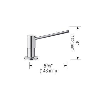Blanco Torre Soap Dispenser - Biscuit