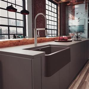 Blanco Ikon Farmhouse Kitchen Sink - 30-in- Café