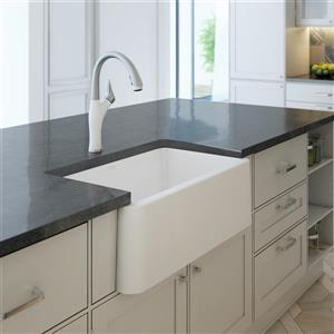 Blanco Ikon Farmhouse Kitchen Sink - 30-in - White