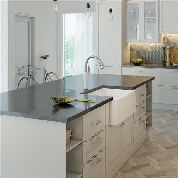 Blanco Ikon Farmhouse Kitchen Sink 30 In White Lowe S Canada