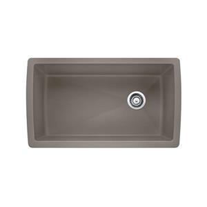 Blanco Diamond Undermount Sink, Truffle