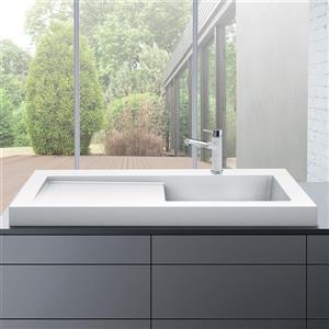Blanco Modex Drop-In Raised Ledge Sink, White
