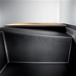 Blanco Modex Drop-In Raised Ledge Sink, Noir